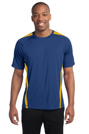 SportTek Tall Colorblock PosiCharge Competitor Tee. TST351