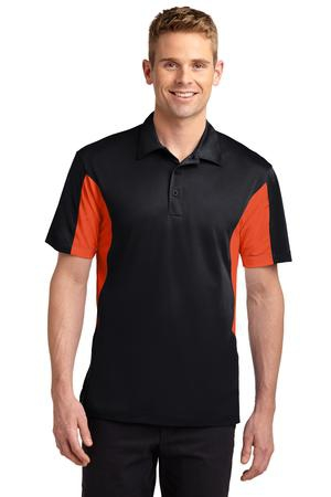 SportTek Tall Side Blocked Micropique SportWick Polo. TST655