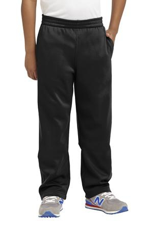 SportTek Youth SportWick Fleece Pant. YST237