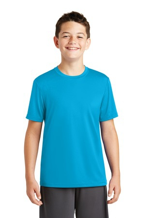 SportTek Youth PosiCharge Tough Tee. YST320