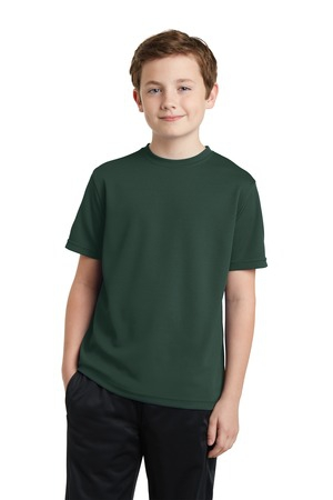 SportTek Youth PosiCharge RacerMesh Tee. YST340