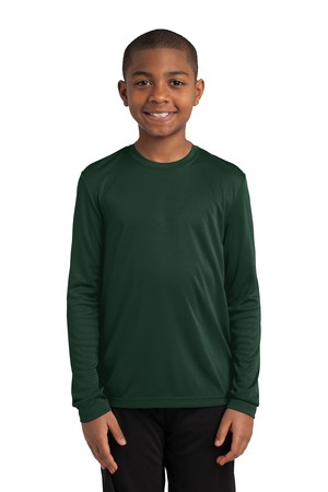 SportTek Youth Long Sleeve PosiCharge Competitor Tee. YST350LS