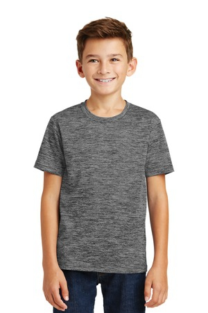 SportTek Youth PosiCharge Electric Heather Tee. YST390
