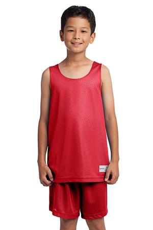 SportTek Youth PosiCharge Classic Mesh Reversible Tank. YST500