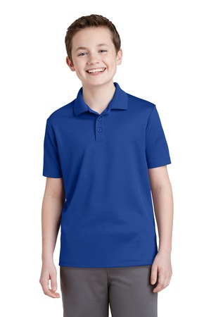 SportTek Youth PosiCharge RacerMesh Polo. YST640