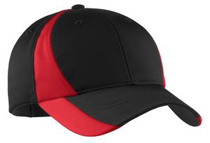 SportTek Youth Dry Zone Nylon Colorblock Cap. YSTC11