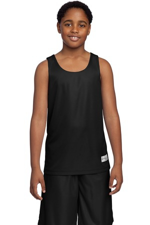 SportTek Youth PosiCharge Mesh Reversible Tank. YT550