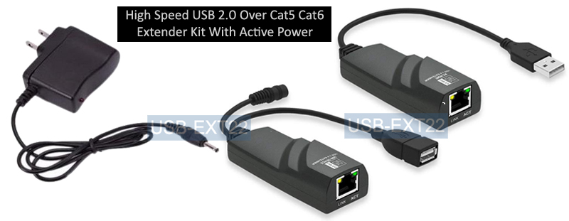 50 Foot USB 1.1 A//A Extension Kit Over Cat5e sold by Custom Cable Connection